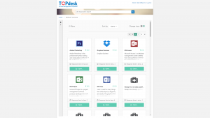 Seamless integration between TOPdesk Self Service and HelloID product catalog