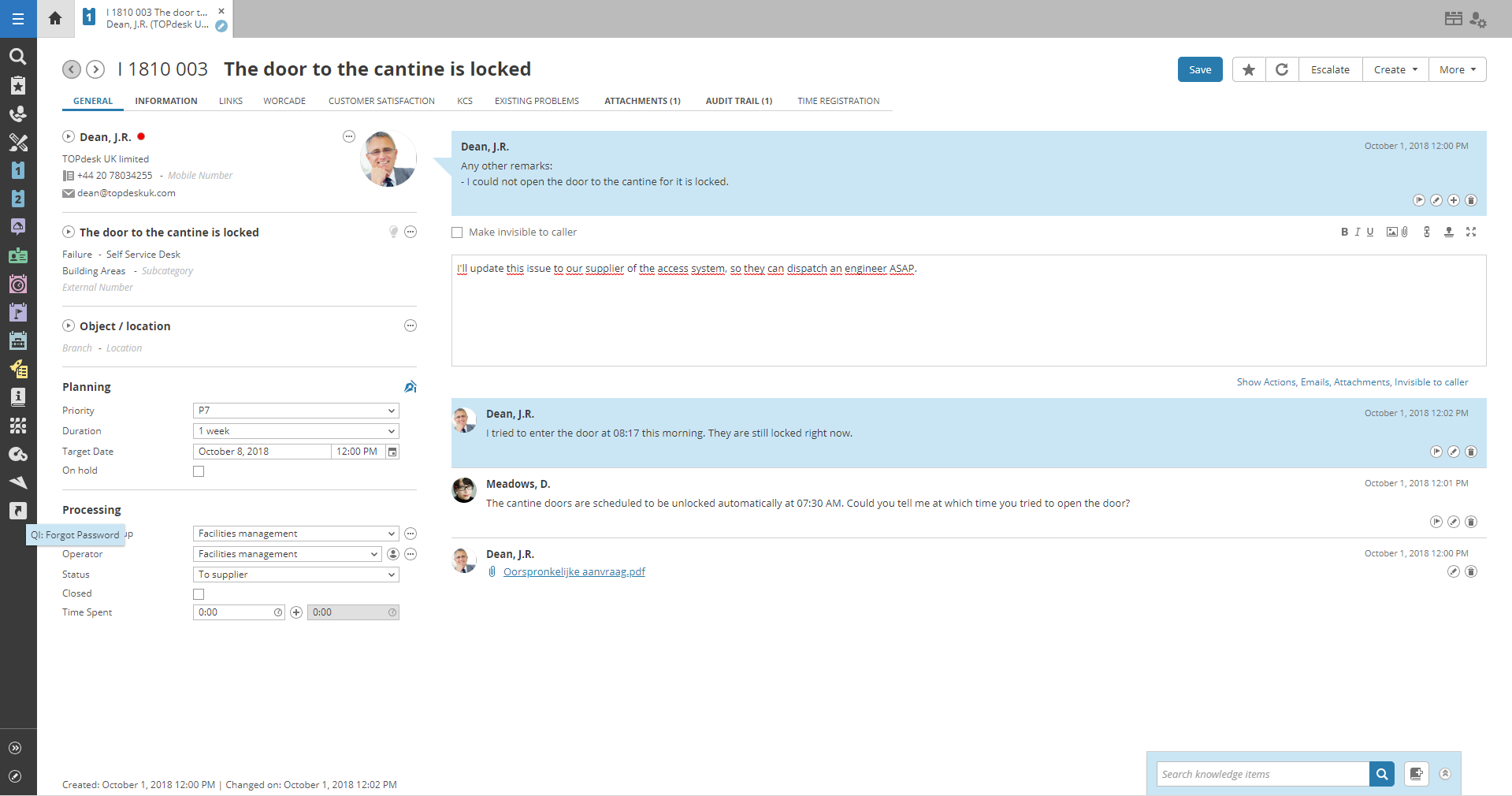 Link TOPdesk => ServiceNow - TOPdesk Marketplace